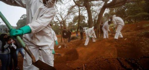 Coronavirus: con 1188 muertes este jueves, Brasil superó las 20 mil víctimas fatales por la pandemia