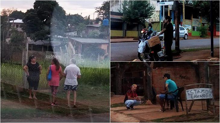 Funcionaria municipal enfadada con los vecinos de Iguazú por no usar los barbijos