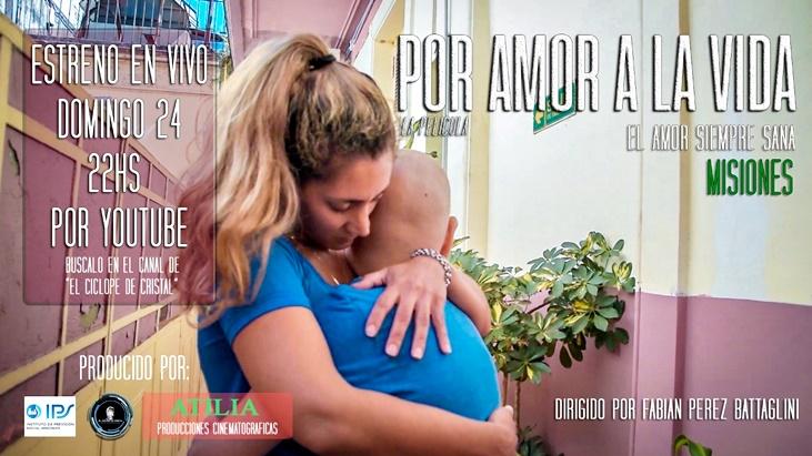 El domingo 24 estrenan el documental Por amor a la vida, el reflejo de la lucha de misioneros que pelean contra el cáncer