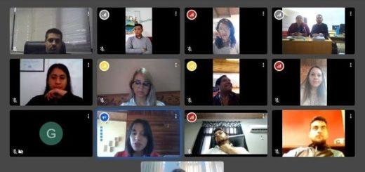 Los jóvenes de distintos puntos de la provincia se reunieron virtualmente con Pablo Núñez y analizaron el contexto actual
