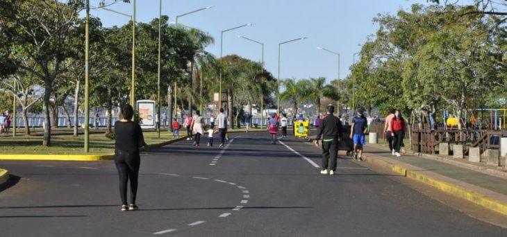 Coronavirus: Posadas habilitó nuevos días y horarios para caminatas recreativas