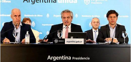 EN VIVO: Alberto Fernández anuncia la extensión de la cuarentena