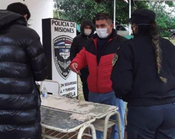 Continúan los controles sanitarios a camioneros y a quienes ingresan a la provincia en operativo vuelta a casa