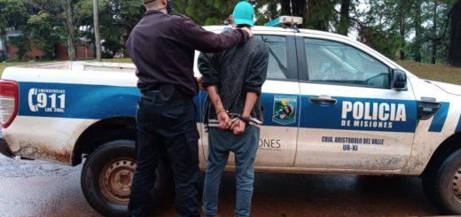 Aristóbulo del Valle: tras intenso raid delictivo un joven fue detenido