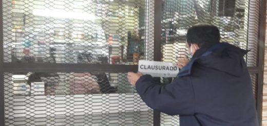 Posadas: clausuraron tres comercios por incumplir el protocolo sanitario