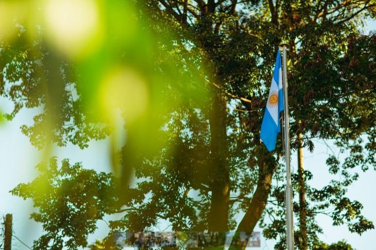Con un acto oficial, Herrera Ahuad y Stelatto conmemoraron el 210° aniversario del nacimiento de la Patria