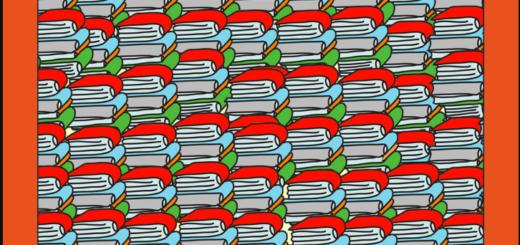 Reto viral: ¿podés encontrar el lápiz en menos de 20 segundos?