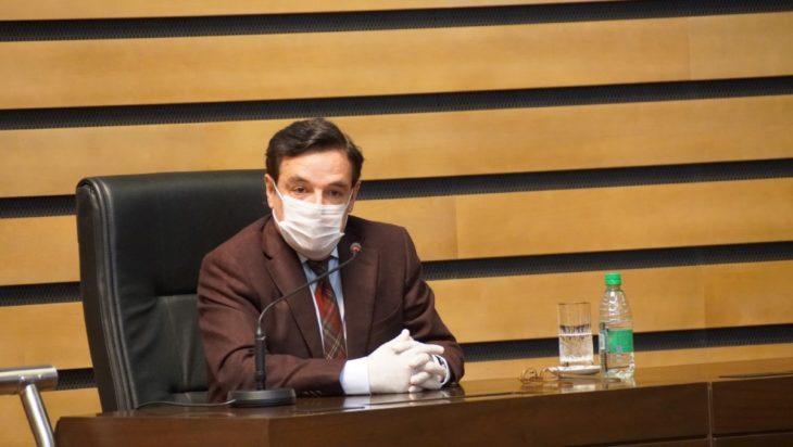 El presidente de la Legislatura misionera Carlos Rovira propone crear la Secretaría de Estado de Cambio Climático