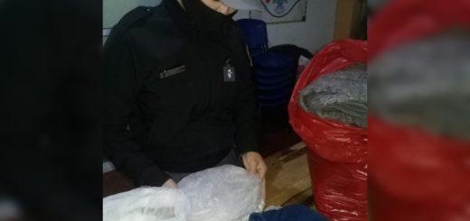 Detectaron marihuana dentro de un abrigo que pretendían enviar a un interno de la Unidad Penal de Loreto