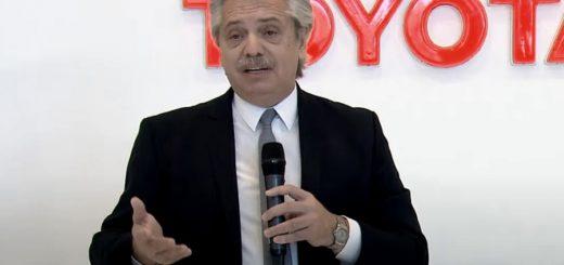 """Coronavirus: """"El país entero se está poniendo de pie y está empezando a producir"""", sostuvo Alberto Fernández"""