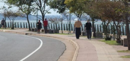 Más de 1.800 mayores de 60 años se sumaron a las caminatas recreativas de este miércoles en Posadas