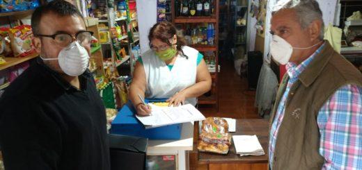 Avanzan con la regularización de tierras en Concepción de la Sierra