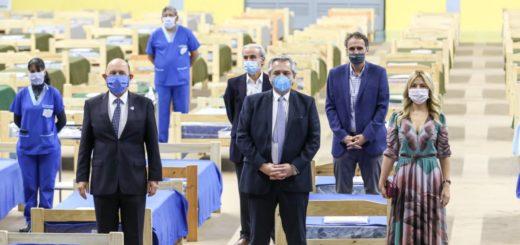 Coronavirus: el Presidente recorrió hospitales y firmó acuerdos de obras en Formosa