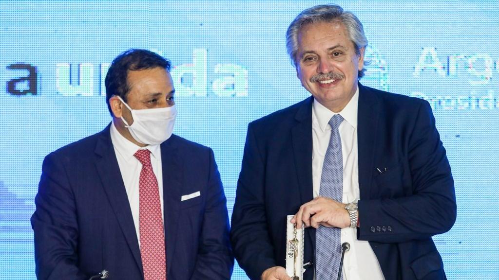 Coronavirus: el Presidente inauguró instalaciones sanitarias y anunció obras viales, hídricas y de hábitat en Misiones