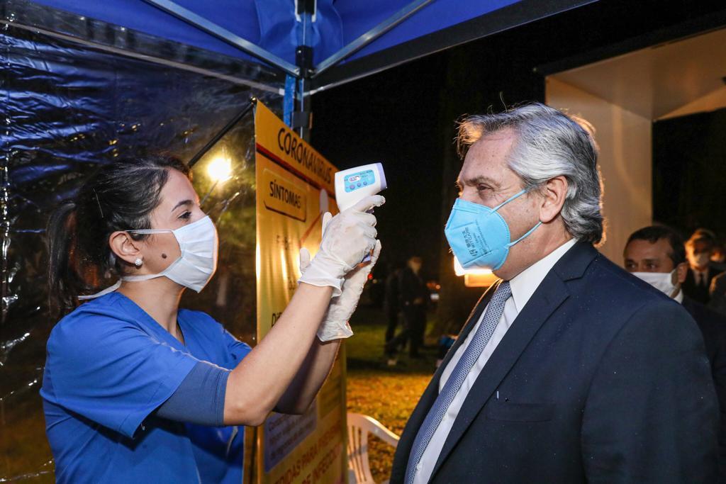 """Primera visita del presidente Alberto Fernández a Misiones: """"Celebro la firmeza y rigidez del gobernador a la hora de cuidar la vida de los misioneros"""""""