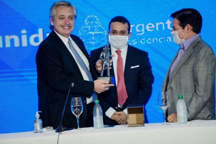 En su primera visita oficial a Misiones, el presidente Alberto Fernández anunció la ejecución de nuevas obras con una inversión total de $14.678 millones de pesos