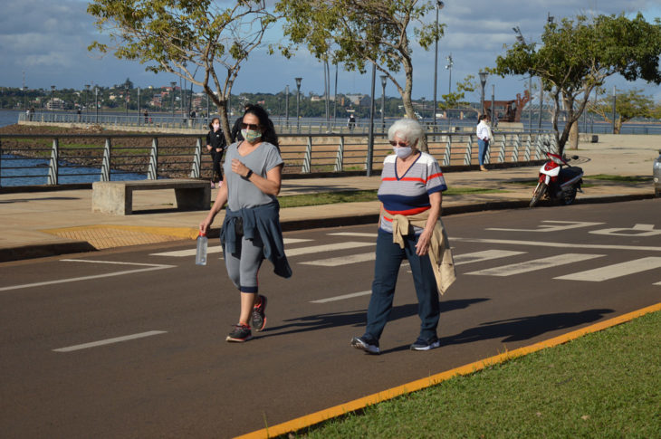 Posadas: se podrán realizar caminatas recreativas este sábado y domingo sin restricción de edad