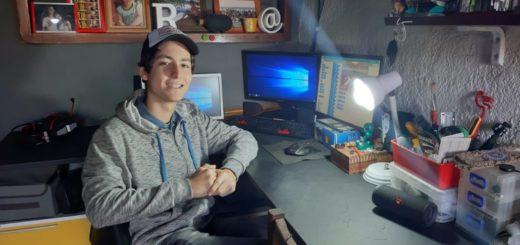 #OrgulloMisionero: joven estudiante de la escuela de robótica ganó el primer lugar en torneo latinoamericano virtual