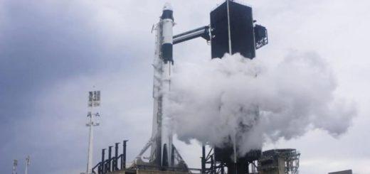 Esta tarde se realizará el lanzamiento de la nave espacial tripulada de la NASA y SpaceX