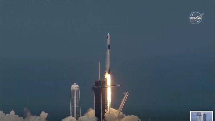 Despegó la primera misión espacial tripulada privada desde los Estados Unidos