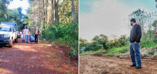 Coronavirus: en Eldorado continúan los trabajos de mantenimiento de calles, saneamiento de arroyos y limpieza