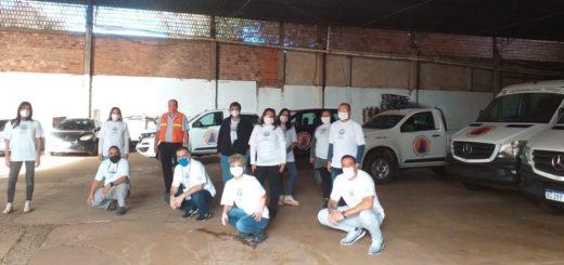 Los Cascos Blancos se suman a la lucha contra el dengue y el coronavirus en Misiones