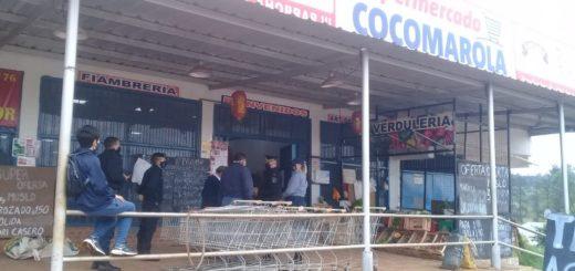 """Clausuraron el local comercial """"Cocomarola"""" en Posadas por falta de medidas de seguridad sanitaria y falta de habilitación"""