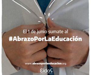 Realizarán el #AbrazoPorLaEducación: la campaña que busca visibilizar los desafíos por los que atraviesa la educación en tiempos del coronavirus