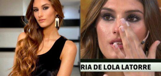 """Lola Latorre se quebró al recordar el escándalo familiar: """"No tengo una buena relación con mi papá"""""""