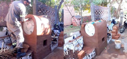 Comedores y merenderos de Posadas tendrán su propio horno ecológico y una huerta sustentable