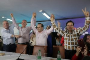 """A un año del contundente triunfo del Frente Renovador, Herrera Ahuad agradeció a la militancia """"por el apoyo permanente"""""""