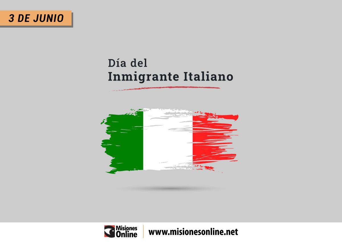 ¿Por qué se conmemora hoy el Día del Inmigrante Italiano? - MisionesOnline