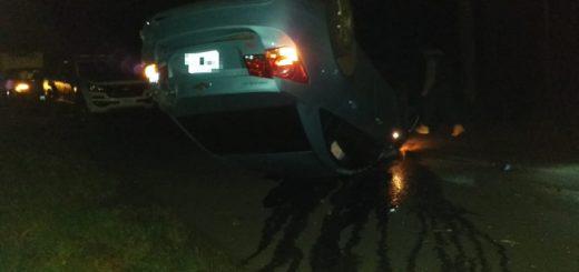 Un hombre falleció tras despistar con su vehículo en la Ruta Provincial 212