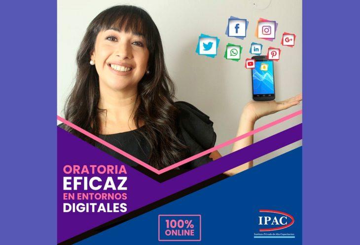 El IPAC lanzó una propuesta imperdible y 100% online: el Curso de Oratoria Eficaz en Entornos Digitales