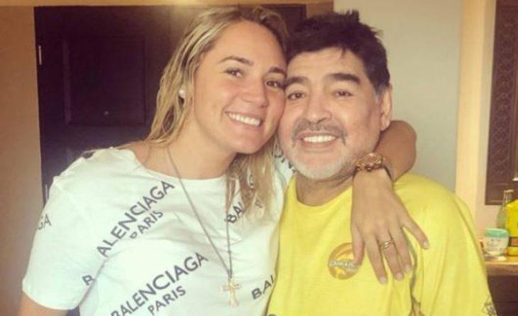 """Rocío Oliva dijo que """"no hubo violencia de género"""" durante la relación con Diego Maradona - MisionesOnline"""