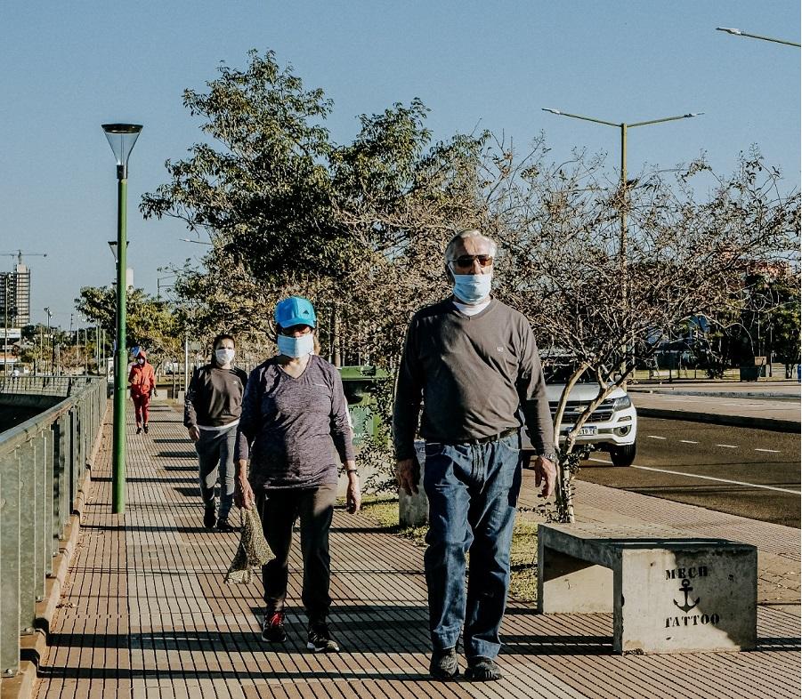 Más de 1.100 mayores de 60 años participaron de las caminatas recreativas en Posadas