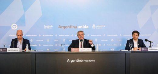 """Alberto Fernández: """"Donde no hay circulación comunitaria se pasará del aislamiento al distanciamiento social"""""""