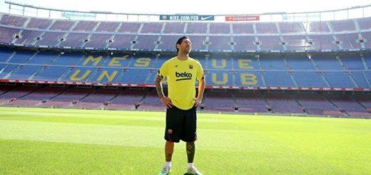 El mensaje de Messi tras su regreso al césped del Camp Nou