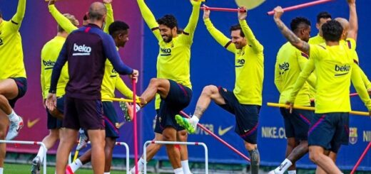 Lionel Messi entrenó con sus compañeros y jugaría ante el Mallorca