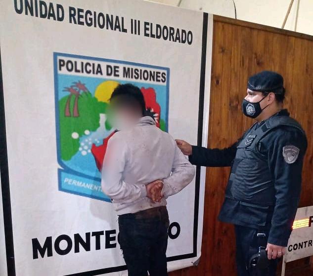 Hubo cinco detenidos en Montecarlo y Campo Grande por ocasionar disturbios