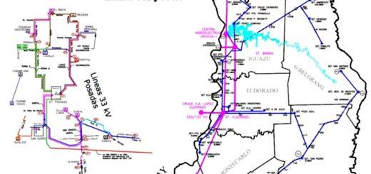 """Advierten que de no poner en funcionamiento la línea de 132 kV Eldorado - Puerto Mineral habrá """"graves problemas de energía"""" en la zona norte de Misiones"""