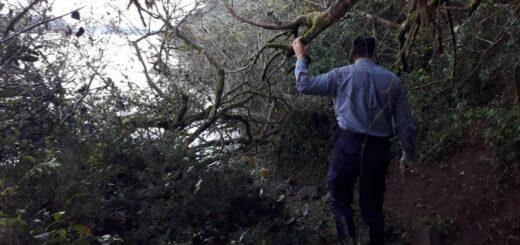 Prosigue la búsqueda del joven que desapareció en el río Uruguay en El Soberbio