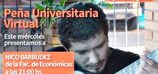 Desde la Agencia Universitaria Posadas te invitan a la Peña Virtual de esta noche, a los ciclos de charlas entre semana y las trivias del finde