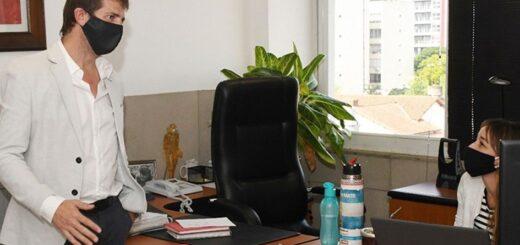 El flamante director ejecutivo de Yacyretá recorrió las oficinas de Posadas y agendó una reunión con Duarte Frutos para los próximos días