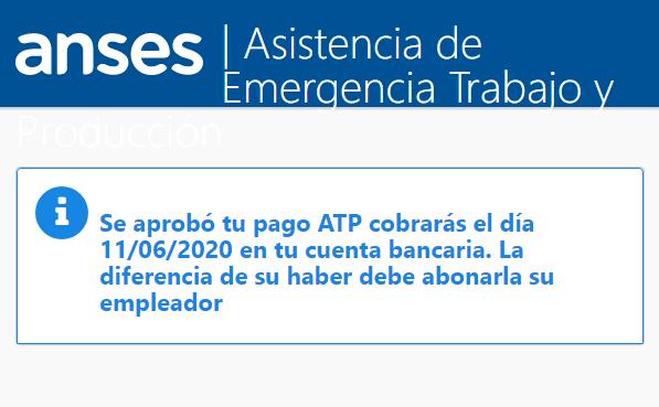 Hoy comenzó el pago de la ATP que beneficiará a más de 1.6 millones de trabajadores del sector privado