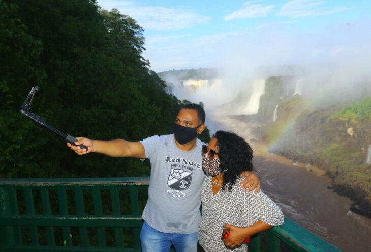 Coronavirus: Foz do Iguazú reabrió las cataratas