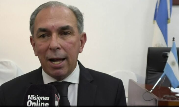 El intendente de Posadas saludó al nuevo director de la EBY y dijo que espera trabajar en conjunto para mejorar la vida de los posadeños