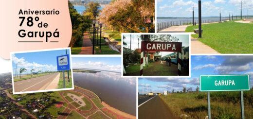 La localidad de Garupá festeja hoy su 78° Aniversario