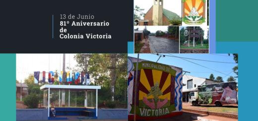 La localidad de Colonia Victoria celebra hoy su 81° Aniversario