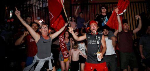 Coronavirus: el Liverpool le pide a sus fans que dejen de celebrar en grupos